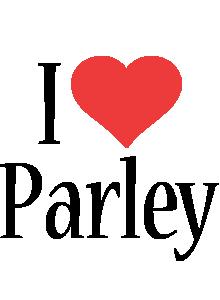 Parley i-love logo