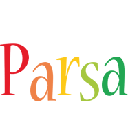 Parsa birthday logo
