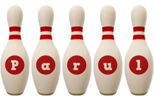 Parul bowling-pin logo