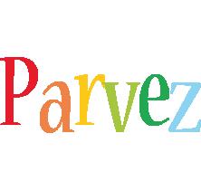 Parvez birthday logo