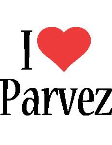 Parvez i-love logo