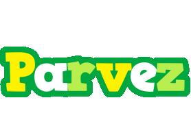 Parvez soccer logo