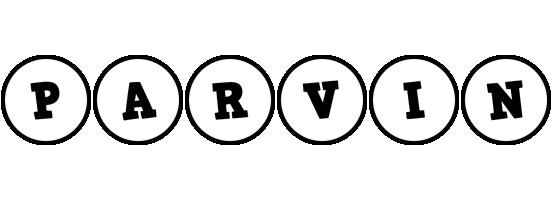 Parvin handy logo