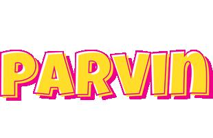 Parvin kaboom logo