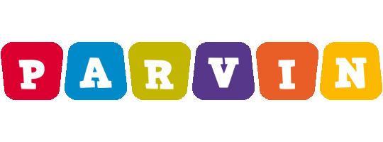 Parvin kiddo logo