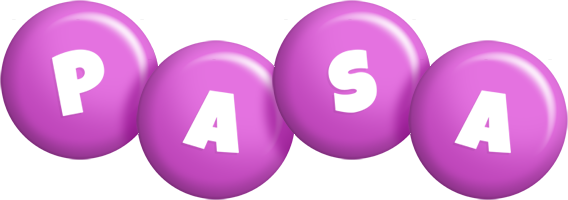Pasa candy-purple logo
