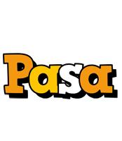 Pasa cartoon logo