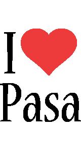 Pasa i-love logo