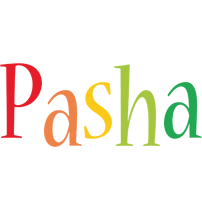 Pasha birthday logo