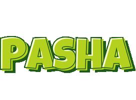 Pasha summer logo