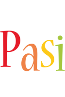Pasi birthday logo