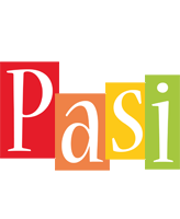 Pasi colors logo