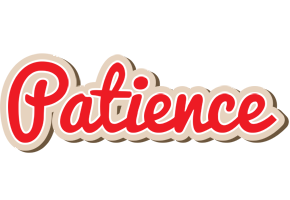 Patience chocolate logo
