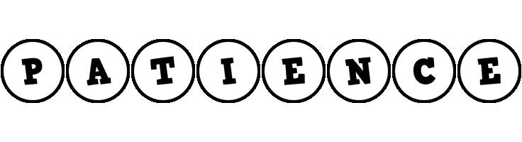 Patience handy logo