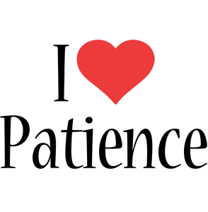 Patience i-love logo