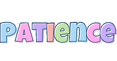 Patience pastel logo