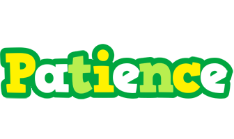 Patience soccer logo