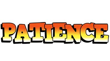 Patience sunset logo