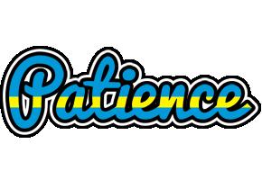 Patience sweden logo