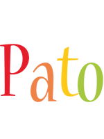 Pato birthday logo