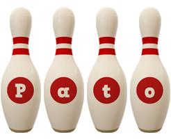 Pato bowling-pin logo