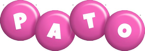 Pato candy-pink logo