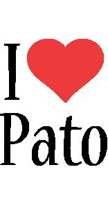 Pato i-love logo