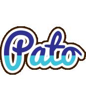 Pato raining logo