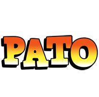 Pato sunset logo