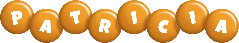 Patricia candy-orange logo