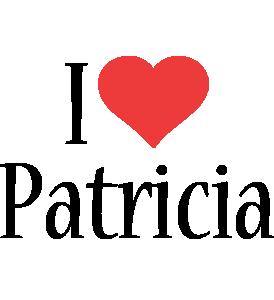 Patricia i-love logo