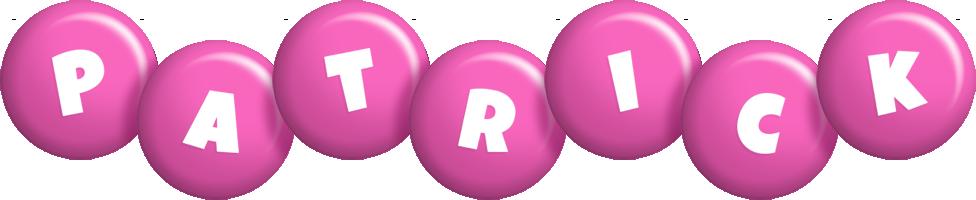 Patrick candy-pink logo