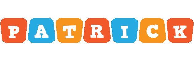 Patrick comics logo