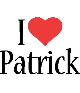 Patrick i-love logo