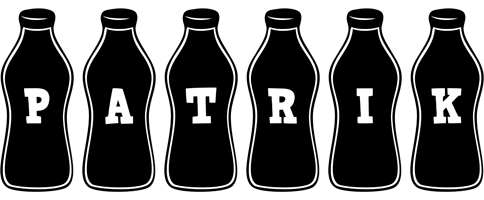 Patrik bottle logo