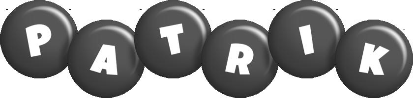Patrik candy-black logo