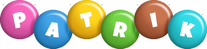 Patrik candy logo