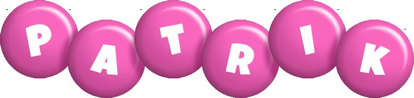 Patrik candy-pink logo