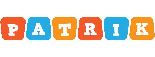Patrik comics logo
