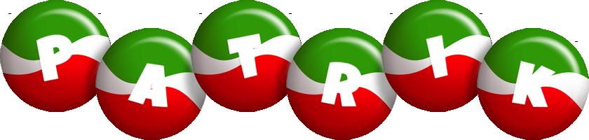 Patrik italy logo