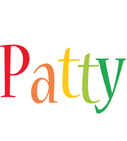 Patty birthday logo