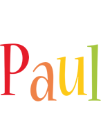 Paul birthday logo