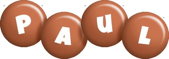 Paul candy-brown logo