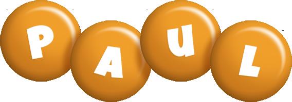 Paul candy-orange logo