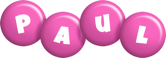 Paul candy-pink logo