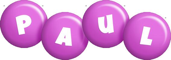 Paul candy-purple logo