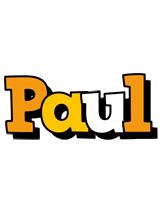 Paul cartoon logo