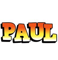 Paul sunset logo