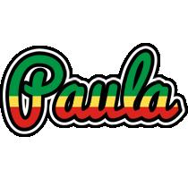 Paula african logo