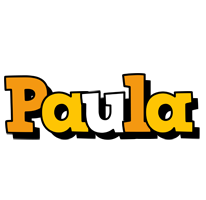 Paula cartoon logo